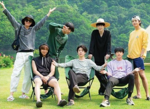 BTS members rejuvenate during their vacation in the teaser of In the Soop