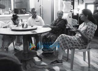 On The Sets Of The Movie Gunjan Saxena - The Kargil Girl