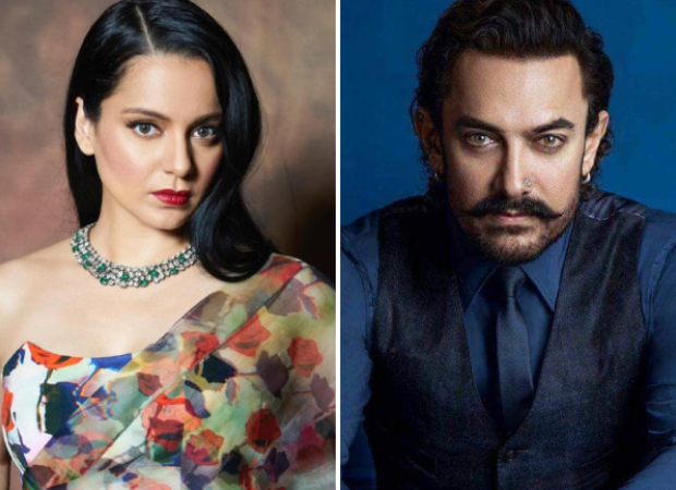Kangana Ranaut shares fake article about Aamir Khan over his religious beliefs