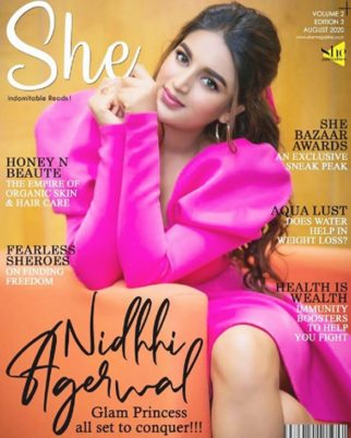 Nidhhi Agerwal On The Cover Of She India