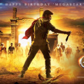 On Chiranjeevi's 65th birthday, Ram Charan unveils the first look poster of Acharya