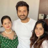 Rashami Desai is all smiles as she celebrates Raksha Bandhan with family