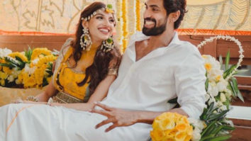 Rana Daggubati and Miheeka Bajaj are all smiles at their pre-wedding celebrations; see PICS