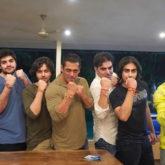 Salman Khan celebrates Raksha Bandhan; flaunts his rakhi with Arbaaz, Sohail, Aayush Sharma and more