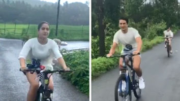 Sara Ali Khan and Ibrahim Ali Khan are enjoying Goa monsoon and cycling in dreamy weather