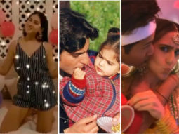 Sara Ali Khan celebrates her 25th birthday with her family, Kareena Kapoor Khan and Varun Dhawan post a sweet messages