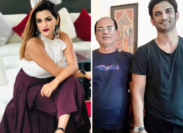 Shweta Singh Kirti shares a picture of Sushant Singh Rajput with their father, calls him their pride