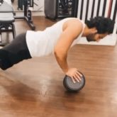Varun Dhawan is slowly recovering from shoulder injury