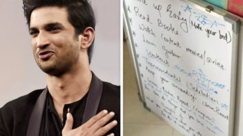 Sushant Singh Rajput's sister shares to-do list of the actor; says he was planning ahead