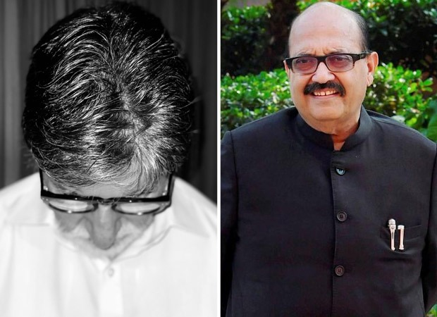 Amitabh Bachchan pays tribute to Amar Singh; says he is filled with grief