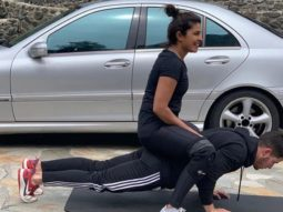 Priyanka Chopra Jonas shows why push-ups are her favourite exercise