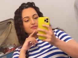 Sonakshi Sinha resumes shooting; shares a video from her make-up room