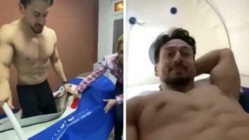 Tiger Shroff shares a throwback video of himself in recovery post shooting for Baaghi 3
