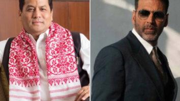 Assam CM Sarbananda Sonowal thanks Akshay Kumar for his contribution of Rs 1 crore towards Assam flood relief
