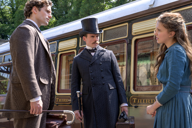 Millie Bobby Brown hunts with Sherlock spirit in first Enola Holmes trailer