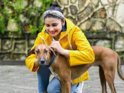 """Sometimes all you need is love,"" writes Prachi Desai sharing pictures of strays from her building"