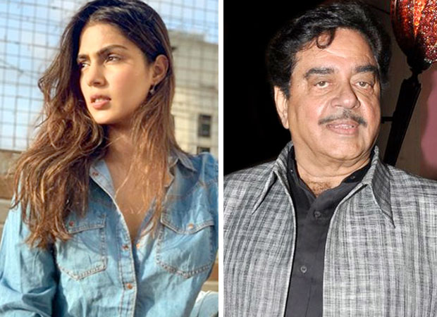 """""""Let the law decide if Rhea Chakraborty is guilty,"""" says Shatrughan Sinha"""
