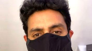 Abhishek Bachchan resumes work on The Big Bull, urges everyone to wear a mask