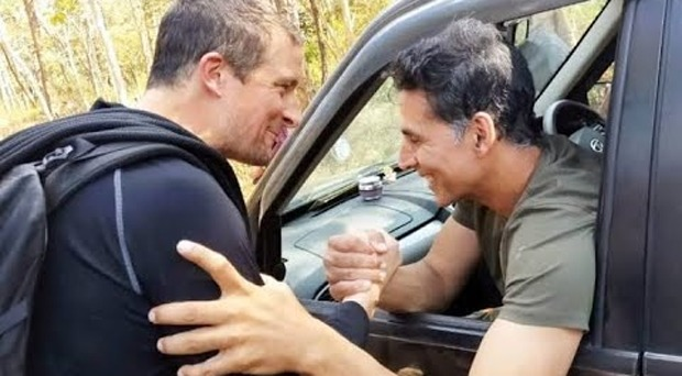 Akshay Kumar suffered minor injuries while shooting with Bear Grylls for Man vs Wild in Bandipur