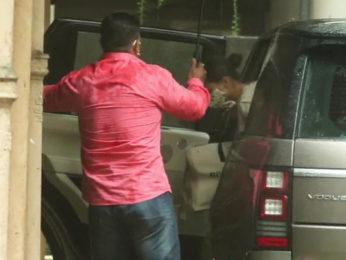 Alia Bhatt spotted at Sanjay Leela Bhansali's office in Juhu
