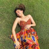 Alia Bhatt stuns in beautiful pictures for Elle, her floral print maxi dress costs Rs. 24, 000
