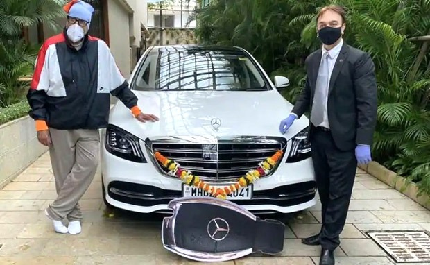 Amitabh Bachchan buys S-class Mercedes Benz after purchasing vintage car