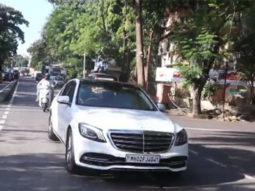 Amitabh Bachchan spotted in Juhu