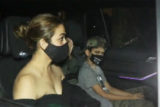 Amrita Arora spotted at Kareena Kapoor Khan's house