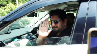 Arshad Warsi spotted in Versova