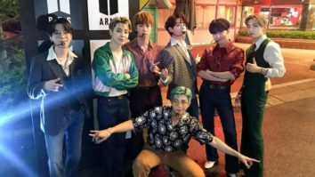 BTS make explosive return to America's Got Talent with 'Dynamite' performance filmed in Everland