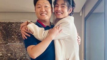 BTS member V meets PSY and we are obsessed with this memorable reunion