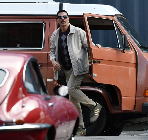 Bellbottom: Akshay Kumar dons retro look for his spy role in the leaked photos from Scotland