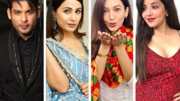 Bigg Boss 14 Makers shoot for a special chess-themed promo featuring Sidharth Shukla, Hina Khan, Gauahar Khan, and Monalisa