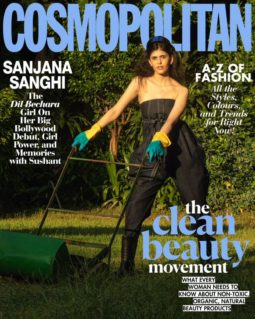 Sanjana Sanghi On The Covers Of Cosmopolitan