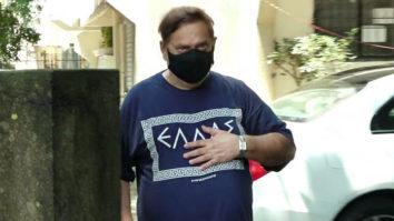 David Dhawan spotted at Kromakay salon in Juhu