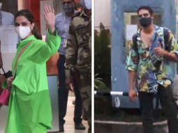 Deepika Padukone and Siddhant Chaturvedi snapped at the airport