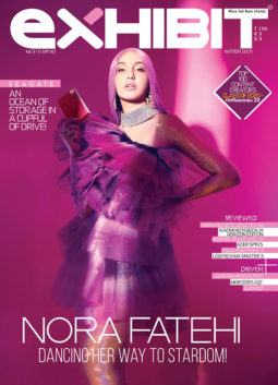 Nora Fatehi on the cover of Exhibit, Sep 2020