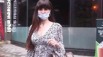 Giorgia Andriani spotted in Bandra-01
