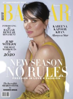 Kareena Kapoor Khan On The Cover Of Harper's Bazaar
