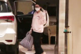 Karisma Kapoor spotted at her mother Babita Shivdasani's house