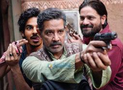On the sets of the movie Khaali Peeli