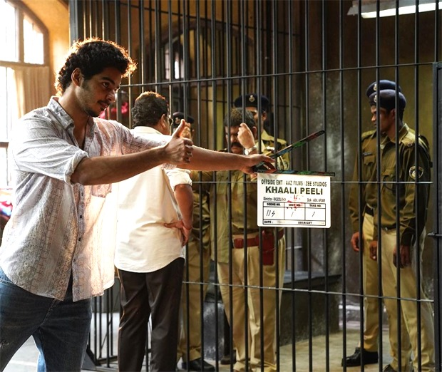 Khaali Peeli: Ishaan Khatter shares behind-the-scenes photo from the first day of shoot