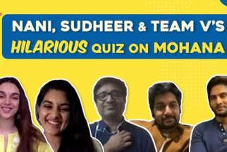 LAUGH RIOT How well do Nani, Sudheer & team V know Director Mohana Quiz Aditi Nivetha