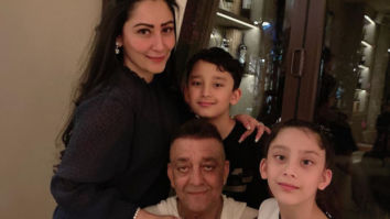 Maanayata Dutt shares a picture of Sanjay Dutt with Shahraan and Iqra as they reunite in Dubai