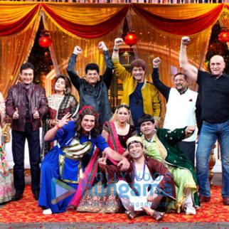 Photos: Cast of Mahabharat visit the sets of The Kapil Sharma Show