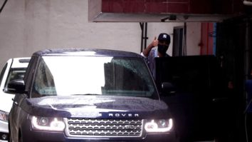 Ranbir Kapoor spotted at Dharma office in Bandra