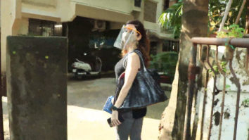 Sussanne Khan spotted at Kromakay salon