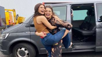 Vaani Kapoor and Huma Qureshi share happy pictures from Bellbottom set