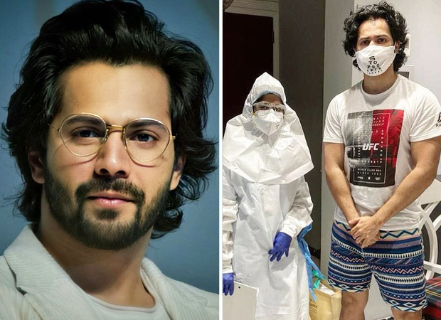 Varun Dhawan undergoes a COVID-19 test before resuming work, shares video