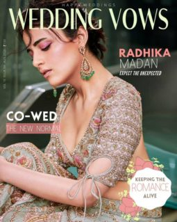 Radhika Madan On The Covers Of Wedding Vows